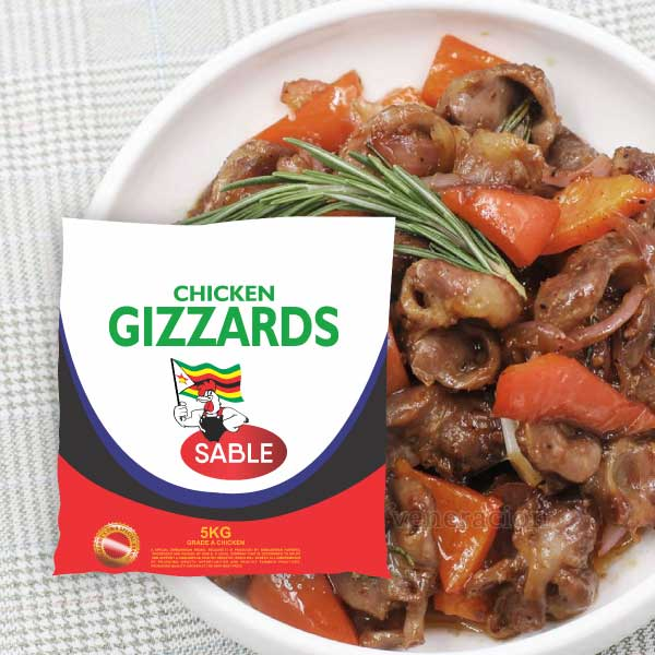 Gizzards | 5kg  (4 X 5KG IN A PACK)